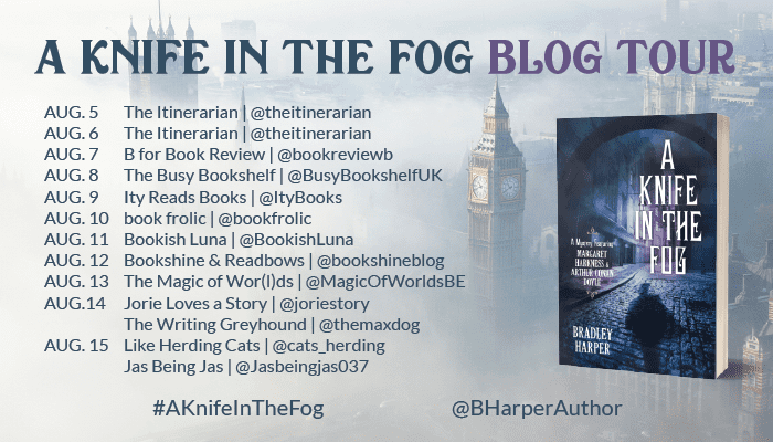 A Knife in the Fog blog tour via Paste Creative