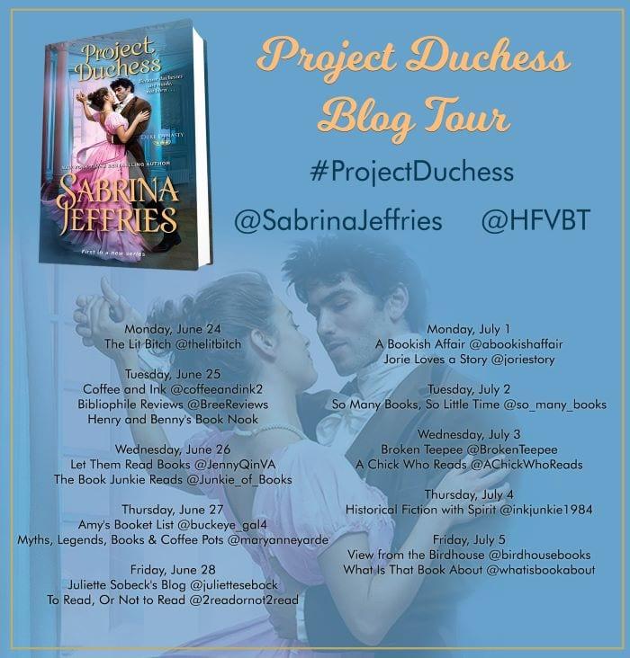 Project Duchess blog tour via HFVBTs