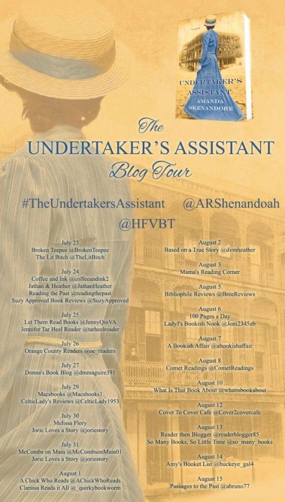 The Undertaker's Assistant blog tour via HFVBTs