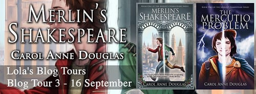 Merlin's Shakespeare blog tour via Lola's Book Tours