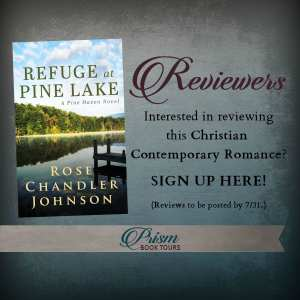 Review Tour for Refuge at Pine Lake via Prism Book Tours
