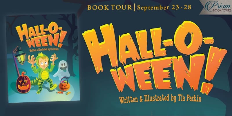 Hall-o-ween blog tour banner via Prism Book Tours