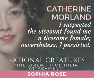 The Strength of their Attachment (short story) by Sophia Rose (part of Rational Creatures anthology) promo banner used with permission.