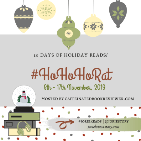 #HoHoHoRAT badge created by Jorie in Canva.