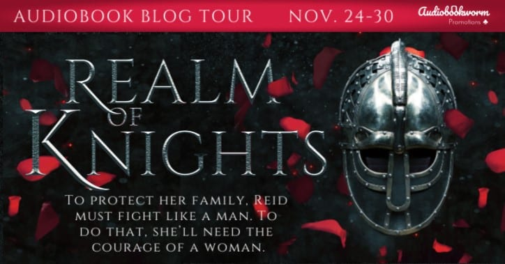 Realm of Knights audio blog tour via Audiobookworm Promotions