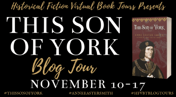 This Son of York blog tour banner via HFVBTs
