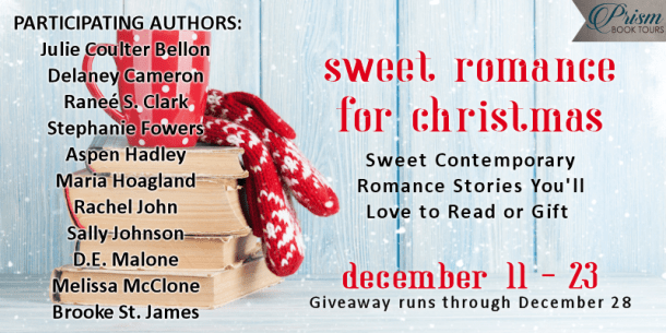 #SweetRomanceForChristmas provided by Prism Book Tours.