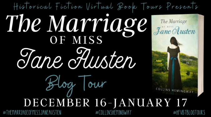 The Marriage of Miss Jane Austen Volume 3 blog tour via HFVBTs