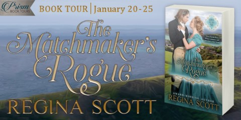 The Matchmaker's Rogue blog tour banner provided by Prism Book Tours.