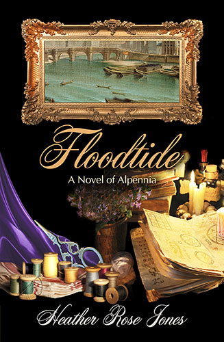 "Conversations with the Bookish | conversing with Heather Rose Jones about her series Alpennia whilst featuring her newest release ""Floodtide"" during #FFFeb!"