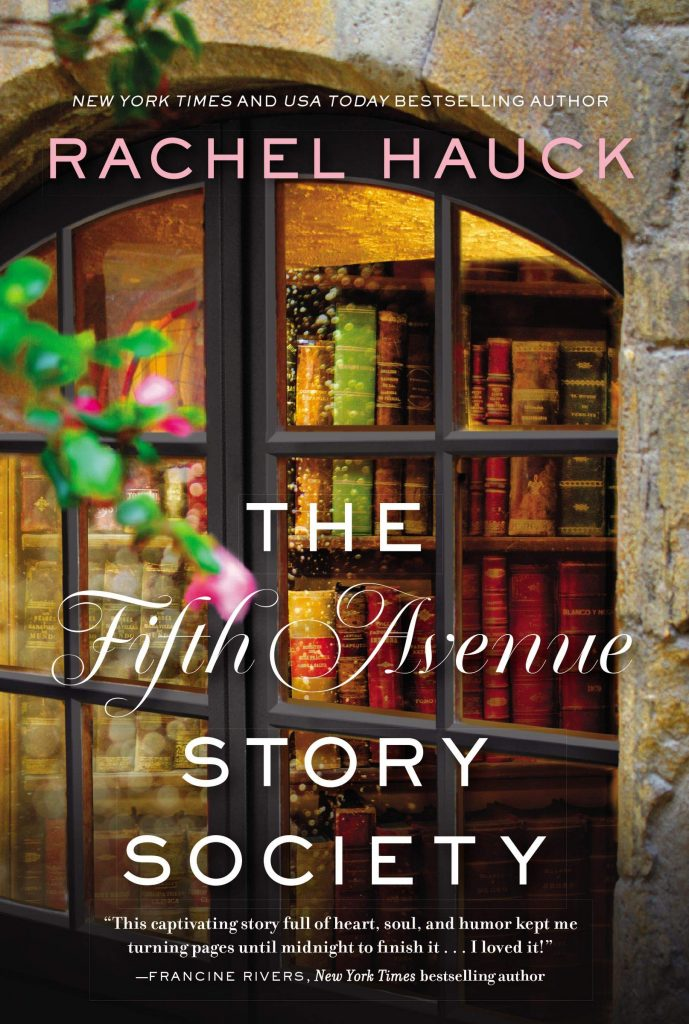 "Blog Book Tour featuring an #INSPY author I used to interact with via Southern Belle View Daily! | ""The Fifth Avenue Story Society"" by Rachel Hauck"