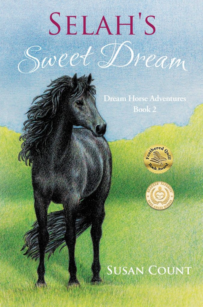 "#MiddleGradeMarch Book Review | ""Selah's Sweet Dream"" (Book Two: the Dream Horse Adventures series) by Susan Count"