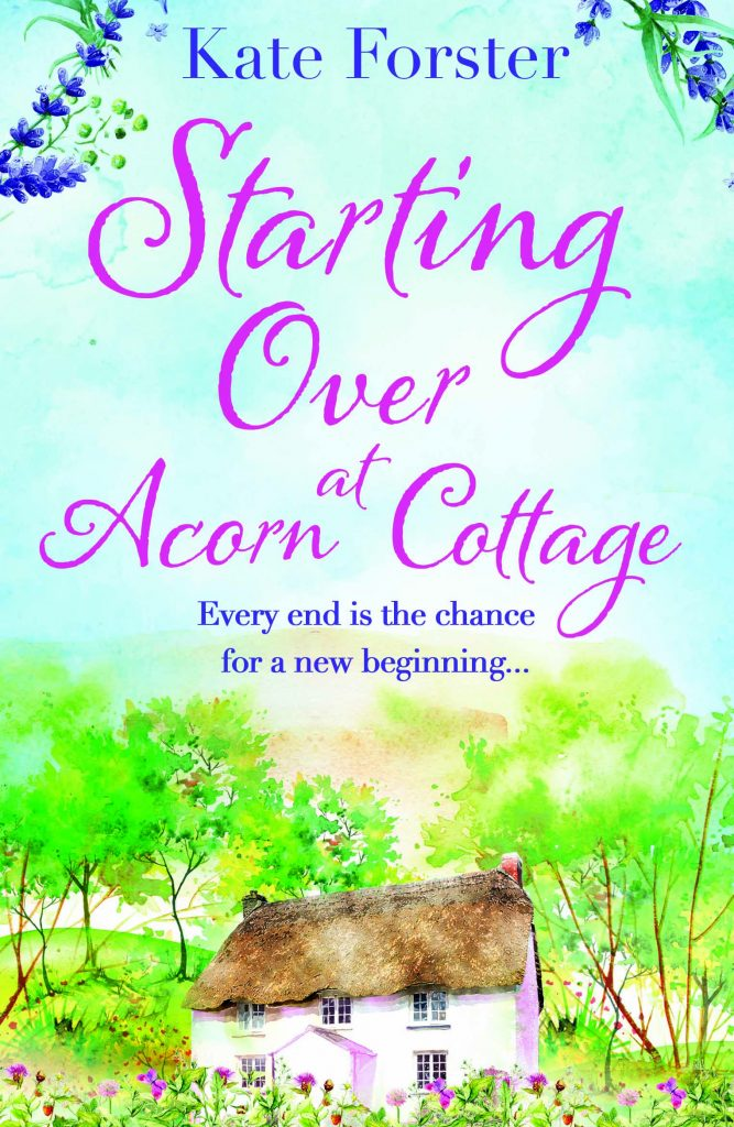 "Book Spotlight | Featuring notes by Jorie and an extract from ""Starting Over at Acorn Cottage"" by Kate Forster"