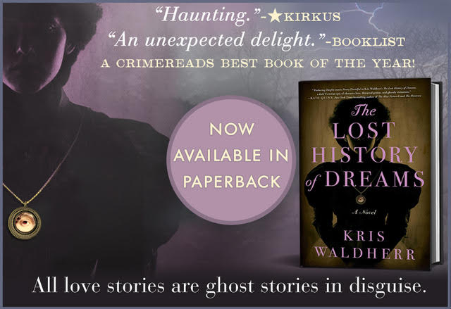 The Lost History of Dreams promo badge provided by Historical Fiction Virtual Book Tours and is used with permission.