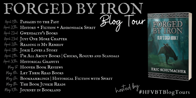Forged in Iron blog tour banner provided by HFVBTs and is used with permission.
