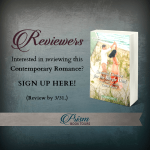 Review tour for Second Chance for the Single Dad via Prism Book Tours banner.