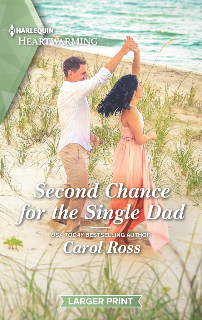 "#HarlequinHeartwarming Book Review | ""Second Chance for the Single Dad"" (Pacific Cove Romance, Book Four) by Carol Ross"