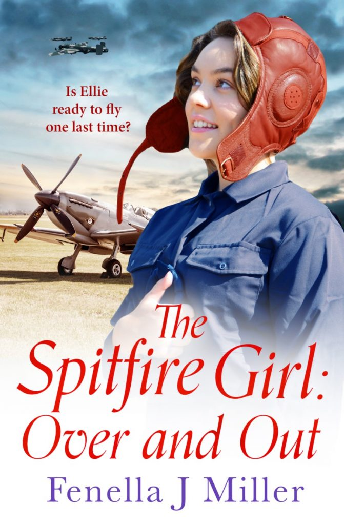"Book Spotlight | Featuring notes by Jorie and an extract from ""The Spitfire Girl: Over and Out"" (Spitfire Girl series) by Fenella J Miller"