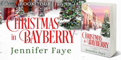 Christmas in Bayberry blog tour banner provided by Prism Book Tours and is used with permission.