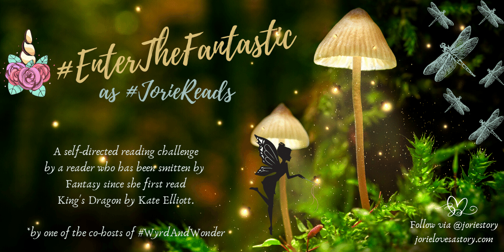 #EnterTheFantastic banner created by Jorie in Canva.