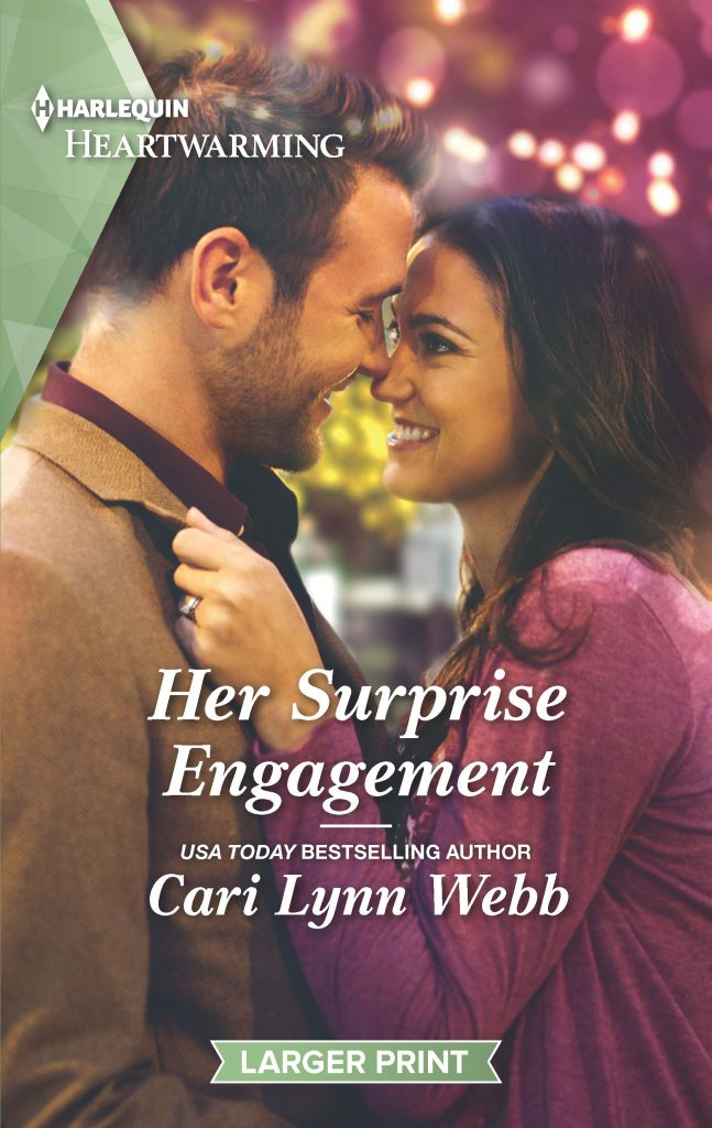 "A #Harlequin Heartwarming Book Review | ""Her Surprise Engagement"" (City by the Bay Stories, Book Six) by Cari Lynn Webb"
