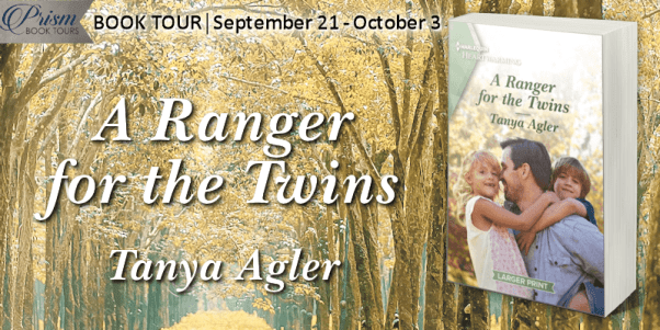 A Ranger for the Twins blog tour banner provided by Prism Book Tours and is used with permission.