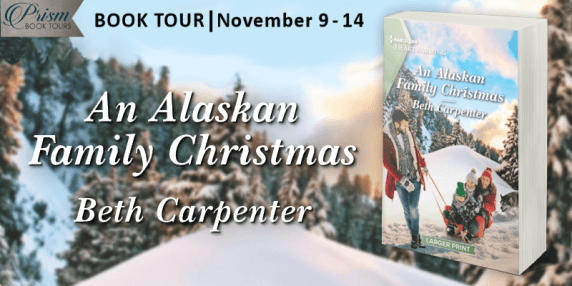 An Alaskan Family Christmas blog tour banner provided by Prism Book Tours and is used with permission.