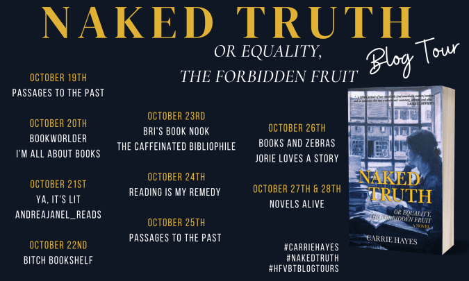 Naked Truth: or Equality, the Forbidden Fruit blog tour banner provided by HFVBTs and is used with permission.