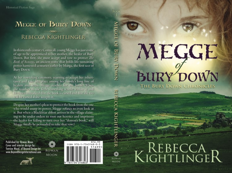Megge of Bury Down (flat cover) by Rebecca Kightlinger