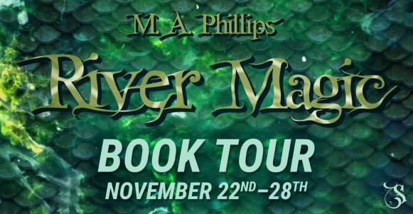 River Magic blog tour banner provided by Storytellers on Tour and is used with permission.