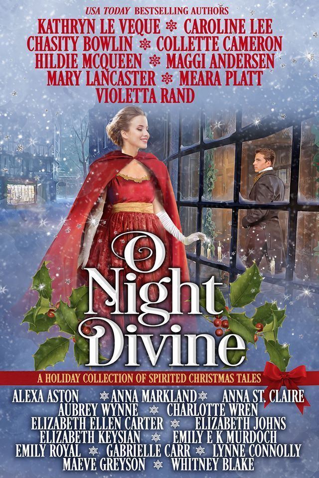 "#Blogmas Book Spotlight | ""O Night Divine"" (anthology) by Dragonblade Publishing"