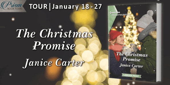 The Christmas Promise blog tour banner provided by Prism Book Tours and is used with permission.