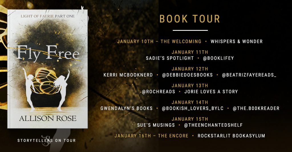 Fly Free blog tour route banner provided by Storytellers on Tour and is used with permission.