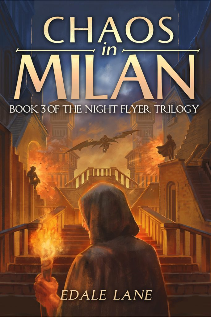 "A #HistoricalMondays Book Review | feat. the thrilling conclusion within the pages of ""Chaos in Milan"" (Night Flyer Trilogy, Book Three) by Edale Lane"