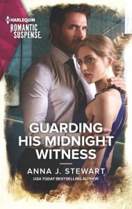 Guarding His Midnight Witness by Anna J. Stewart