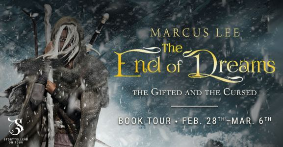 The End of Dreams blog tour banner provided by Storytellers on Tour and is used with permission.