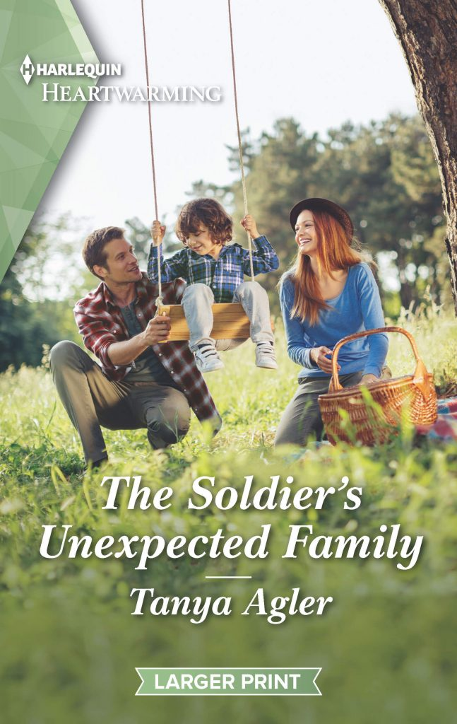 "A #PubDay #RomanceTuesdays feat. #HarlequinHeartwarming | ""The Soldier's Unexpected Family"" (Book Three of the Hollydale series) by Tanya Agler"