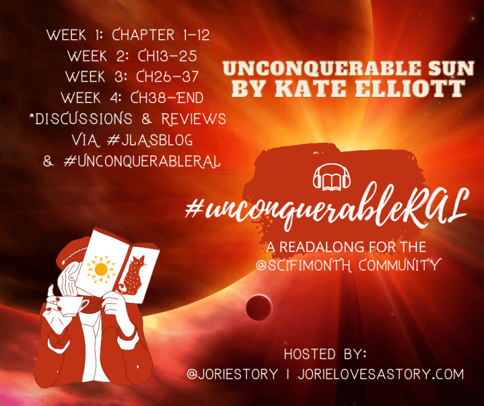 Unconquerable Sun RAL badge created by Jorie in Canva.