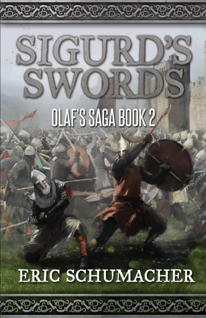 "An #IndieApril #HistFic Book Spotlight | Enjoy this extract from ""Sigurd's Swords"" (Book Two, Olaf's Saga series) by Eric Schumacher"