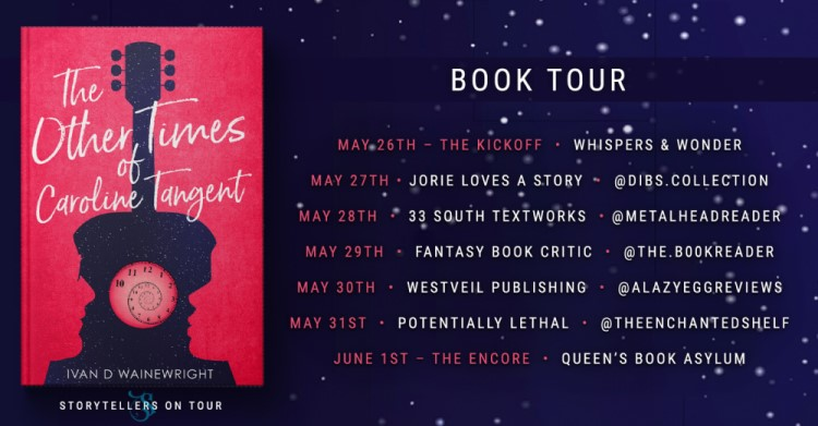 The Other Times of Caroline Tangent Hosts blog tour banner provided by Storytellers on Tour and is used with permission.