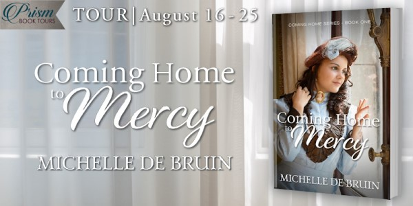 Coming Home to Mercy blog tour banner provided by Prism Book Tours and is used with permission.