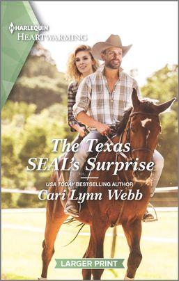 "Soaking into a new #HarlequinHeartwarming series | ""The Texas SEAL's Surprise"" (Three Springs, Texas, Book One) by Cari Lynn Webb"