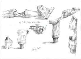 Tubale Fingerübung (Bleistift)