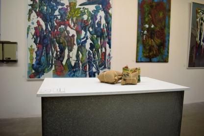 """Skulptur, Trilogie, Titel: """"Wo der Kaffee wächst"""""""