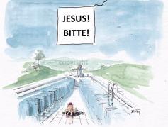 Jesus übt...