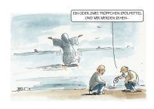 Als Jesus über`s Wasser ging...