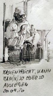 Maskenpflicht in der Tram, Sachsen
