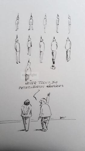 Petersburger Hängung