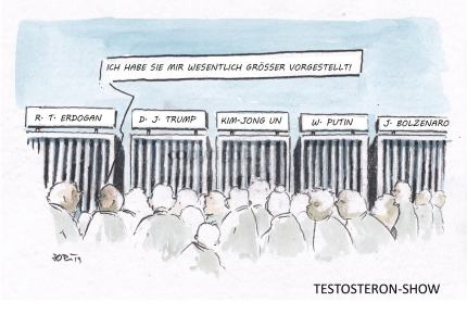 Testosteron-Show