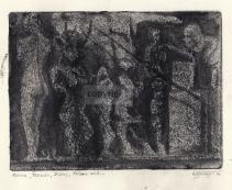 Monotypie, 16 x 21 cm